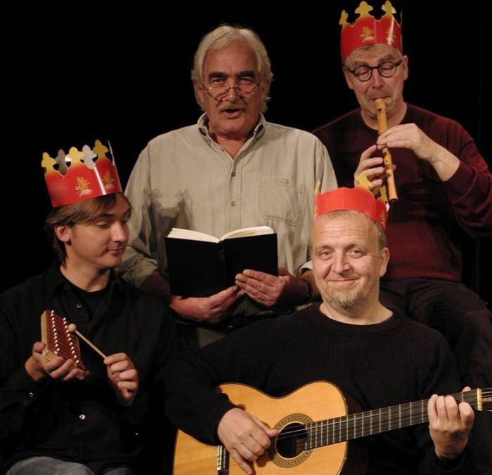 """Karten nur noch an der Abendkasse: Pit Knorr & die eiligen drei Könige """"Erna, der Baum nadelt!"""""""