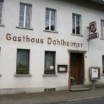 Gasthaus Dahlheimer.