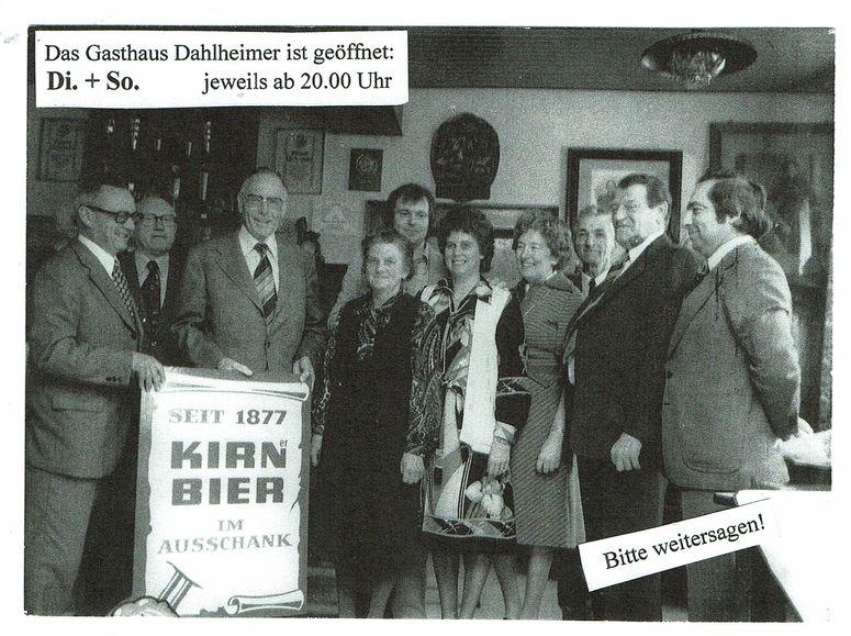 Gasthaus Dahlheimer 1908