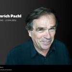 Heinrich Pachl 9|2010 + 5|2003 + 11│1999