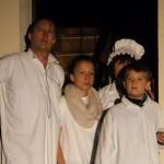 Familie Wiener nach dem Überfall